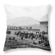 Civil War: Prisoners, 1864 Throw Pillow