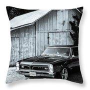 Classic Cars Throw Pillow