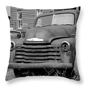 Old And Forgotten - Bw Throw Pillow