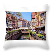 Colmar - France Throw Pillow