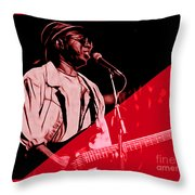 Curtis Mayfield Collection Throw Pillow