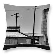 Dairy Farm Throw Pillow