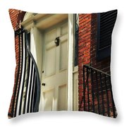 Davenport House Welcome Throw Pillow