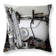 Deep Sea Submarine Throw Pillow