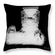 Digital Camera X-ray Throw Pillow