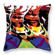 Dr Throw Pillow