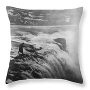 D.w. Griffith (1875-1948) Throw Pillow