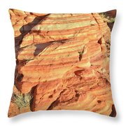 Early Morning In Valley Of Fire Throw Pillow