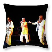 Earth Wind And Fire Throw Pillow