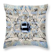 Emet-the Truth Behind The Picture  Throw Pillow