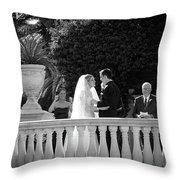 Etzel Mcdougal Wedding Throw Pillow