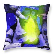 Execute Order 66 Blue Team Commander - Camille Style Throw Pillow