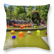 Chihuly Exhibition In The Atlanta Botanical Garden. #01 Throw Pillow