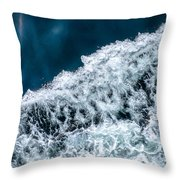 Ferry Waves Throw Pillow