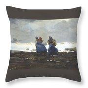 Fishwives  Throw Pillow