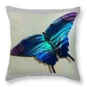 Fly Away Butterfly Throw Pillow
