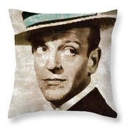Fred Astaire Hollywood Legend Throw Pillow