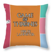 Game Of Thrones. Lannister. Throw Pillow