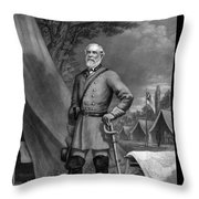General Robert E Lee Throw Pillow by War Is Hell Store