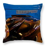 3 Georges Truck Throw Pillow