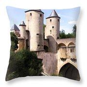 Germans Gate - Metz, France Throw Pillow