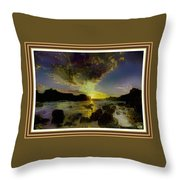 Glory Be To The Father, Glory Be To The Son, Glory Be To The Holy Ghost. L A S - Hudson River Style Throw Pillow