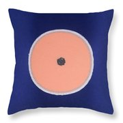 Golf Ball Center Throw Pillow