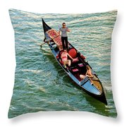 Gondola Throw Pillow