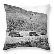 Goodyear Wingfoot Express Throw Pillow