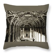 Grand Entrance Throw Pillow