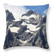 Grand Tetons, Wyoming Throw Pillow