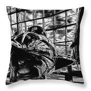 Grumman F9f-8 Cougar Throw Pillow