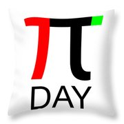 Happy Tau And Pi Day Throw Pillow