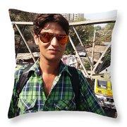 Harpal Singh Jadon Throw Pillow
