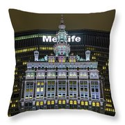 Helmsley Building Throw Pillow
