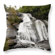 High Falls Throw Pillow
