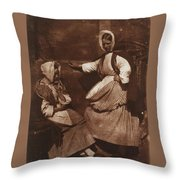 Hill And Adamson Throw Pillow