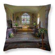 Holy Cross Church, Ramsbury Throw Pillow