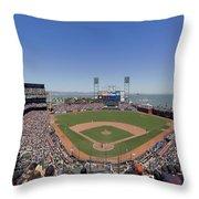 Home Of The San Francisco Giants Throw Pillow
