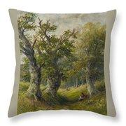 Hopton Wood Throw Pillow
