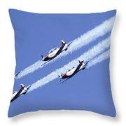 Iaf Acrobatic Team Throw Pillow