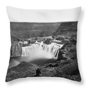 Idaho: Snake River Canyon Throw Pillow