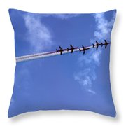 In One Row Throw Pillow