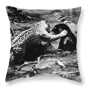 Jaguars Throw Pillow