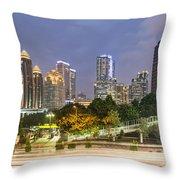Jakarta Twilight Throw Pillow