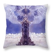 Jerusalem- Tryptich Part  2 Throw Pillow
