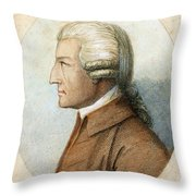 John Howard, C1726-1790 Throw Pillow