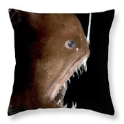 Johnsons Abyssal Seadevil Throw Pillow