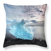 Jokulsarlon - Iceland Throw Pillow