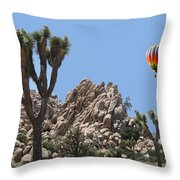Joshua Landing Throw Pillow